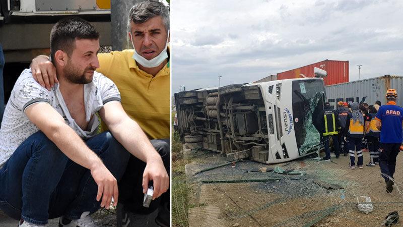 Bursa'daki feci kazada ölen kadının eşinden açıklama