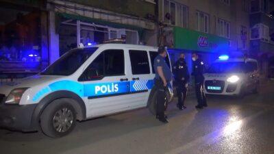 Bursa'da 1 saat içinde aynı apartmana iki kez saldırdı
