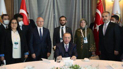 Demokrasi ve Özgürlük Adası'nda Bursa rüzgarı… Cumhurbaşkanı Erdoğan'la görüşme…