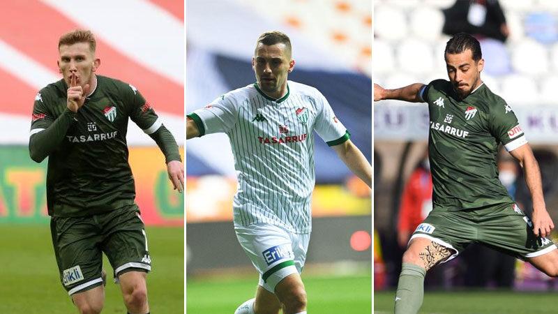 Bursaspor'da 3 isim ön plana çıktı