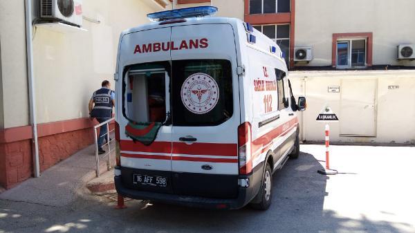Bursa'da sağlık ekibine saldırı