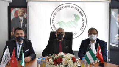 Dündar'dan Batı Trakya Türklerine destek