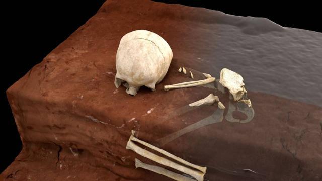 Afrika'da en eski insan mezarı keşfedildi