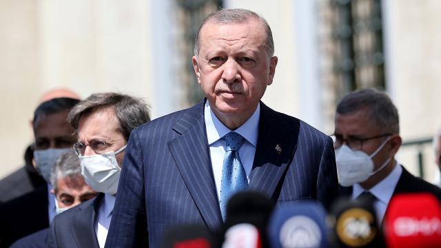Cumhurbaşkanı Erdoğan: İsrail'in eylemleri derhal durdurulmalıdır