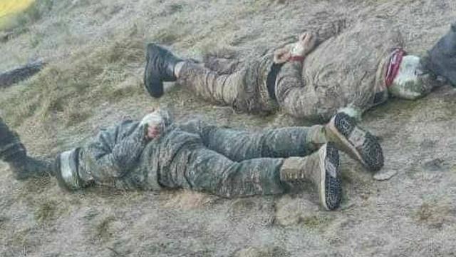 Azerbaycan mayın döşeyen 6 Ermenistan askerini esir aldı