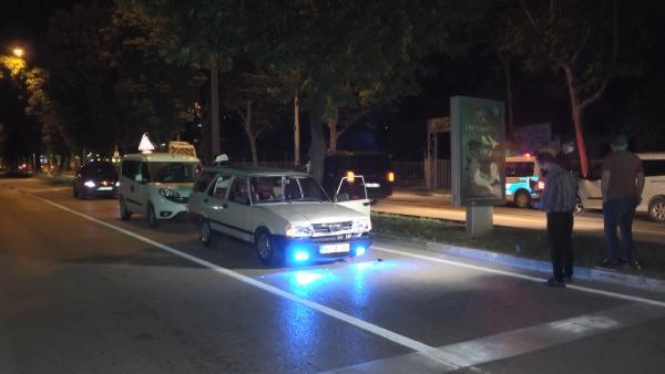 Bursa'da gece yarısı nefes kesen kovalamaca