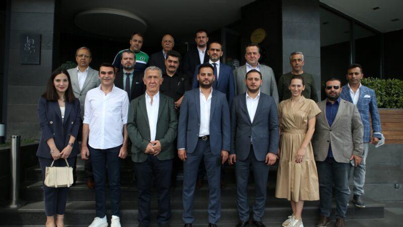 Federasyon başkanından Büyükşehir'e ziyaret…