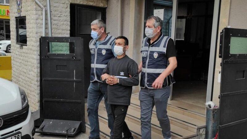Bursa'da katil zanlısı yakalandı!