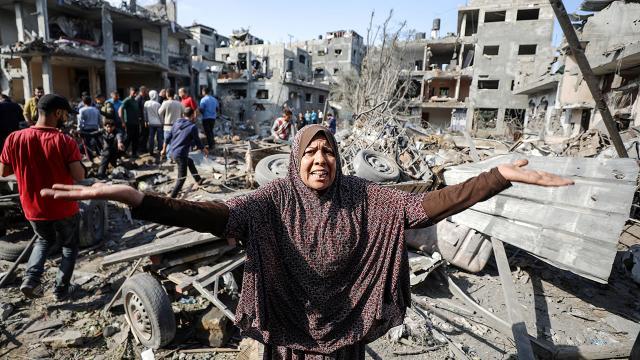 Gazze'de can kaybı 181'e yükseldi