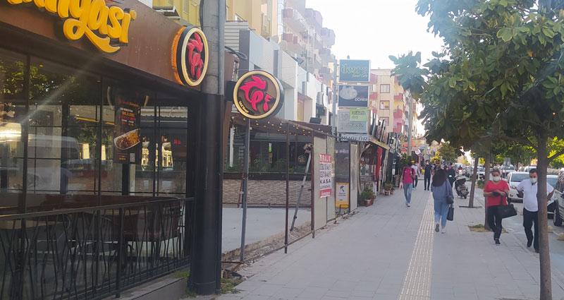 Bursa'nın ünlü caddesi ne hale gelmiş!