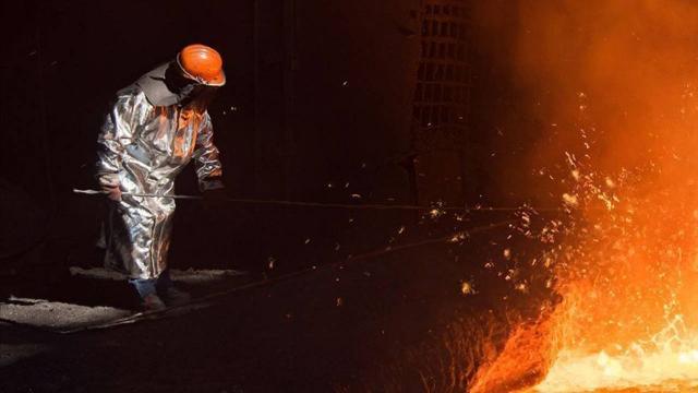 Ham çelik üretimi nisanda arttı