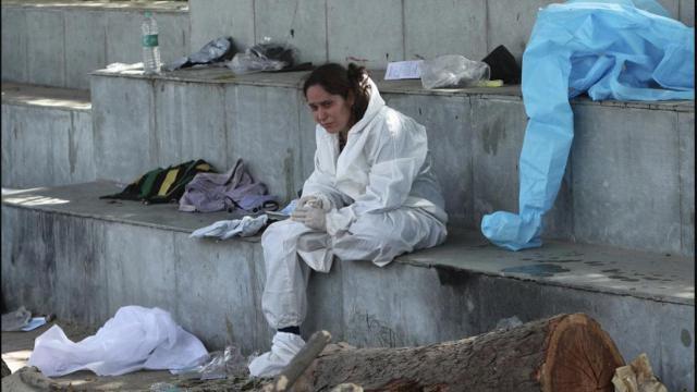 Hastanede yangın faciası: 15 koronavirüs hastası öldü