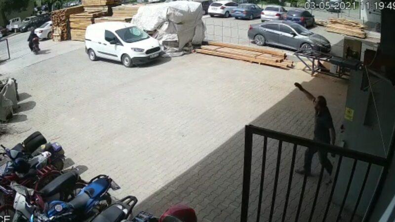 Görüntü Bursa'dan… Hırsızları böyle kovaladı