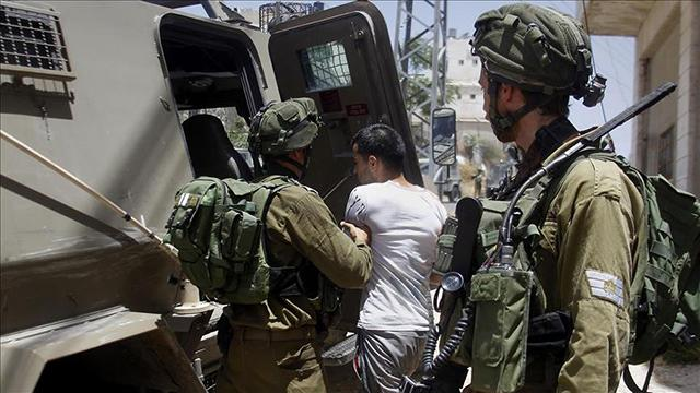 İsrail güçlerinden gece baskını: 41 Filistinli gözaltına alındı
