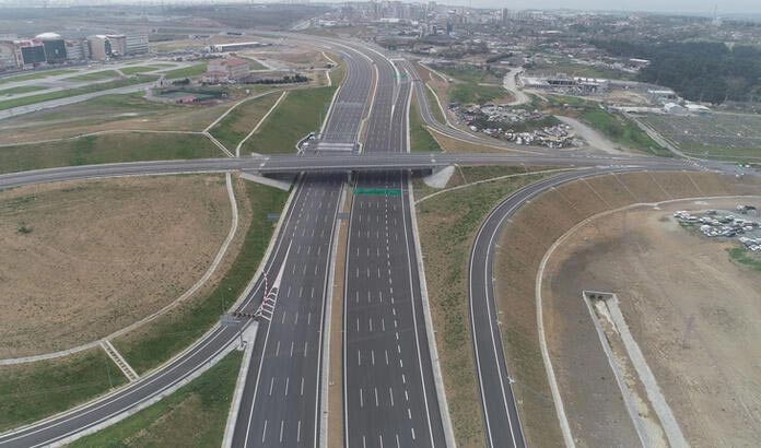 Kuzey Marmara Otoyolu Projesi'nin son kesiminin açılışı için geri sayım başladı