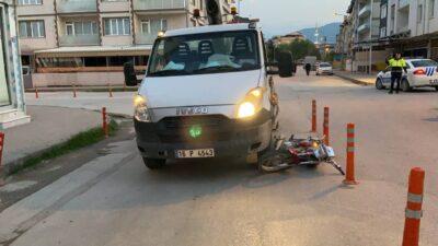 Yer: Bursa… Kamyonetin altında kalan sürücü ağır yaralandı