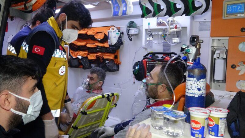 Bursa'da fabrika yangını! 6 işçi hastaneye kaldırıldı…