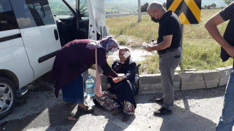Bursa'da yaralıya ilk müdahaleyi belediye başkanı yaptı…