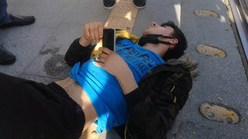 Yer: Bursa… Kazada acısını unuttu, ekranı kırılan telefonuna üzüldü