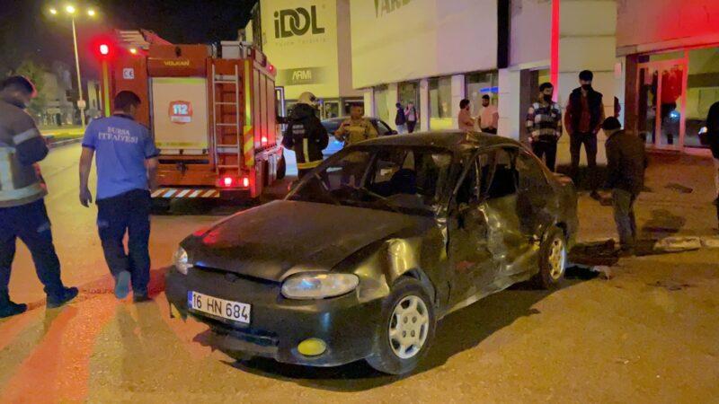 Bursa'da o sürücü yakalandı!