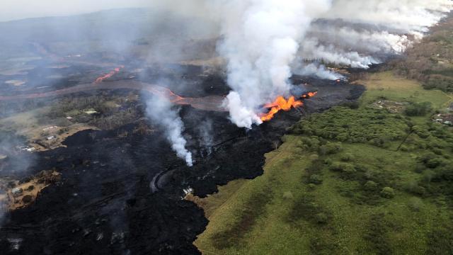 Kilauea Yanardağı'nda patlamalar durdu