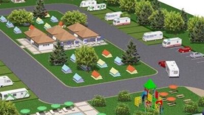 Bursa'da yeni kamp ve karavan park projesi!