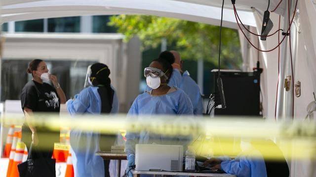 ABD'de son 24 saatte koronavirüsten 659 ölüm