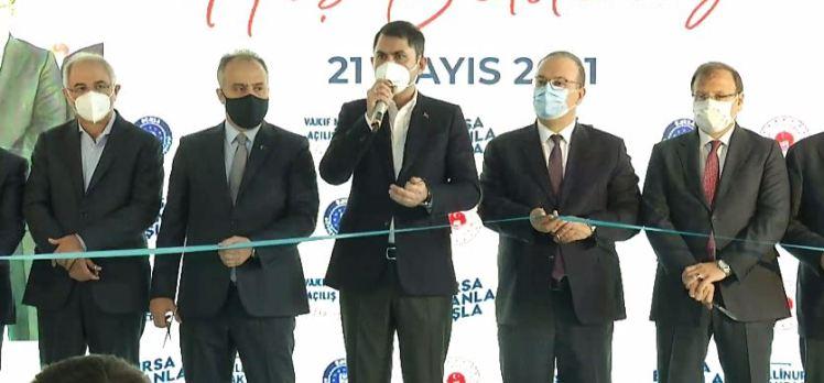 Bursalılara Bakan söz verdi; O projeyi 2023'te bitireceğiz…