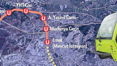 Bursa'da iptal edilen metro ihalesi yenilendi! Bakın kimler ne kadara kazandı?