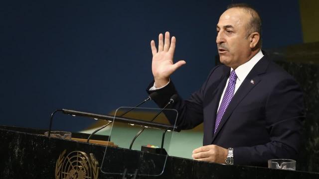 BM'de Filistin oturumu! Bakan Çavuşoğlu'ndan önemli açıklamalar
