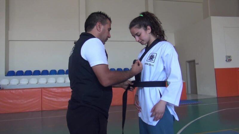 Milli sporcu Sena Çelik'in hedefi Avrupa ve Dünya şampiyonluğu