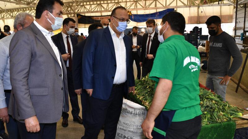 Osmangazi'de Pazarlara Sıkı Denetim