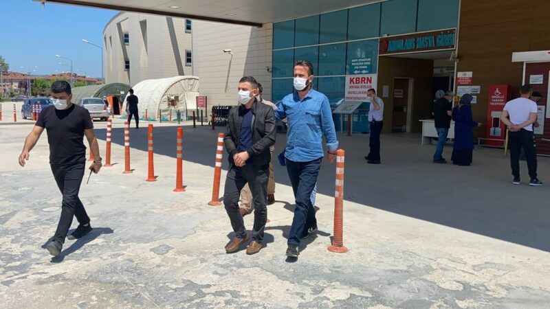Bursa'da polise saldıran 3 şahıs adliyeye sevk edildi