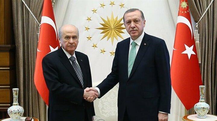 Cumhurbaşkanı Erdoğan ile Bahçeli arasında sürpriz görüşme