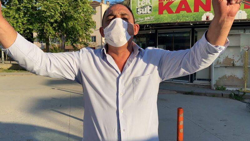 Bursa'da sokağa çıkma yasağına uymayanlara ateş püskürdü