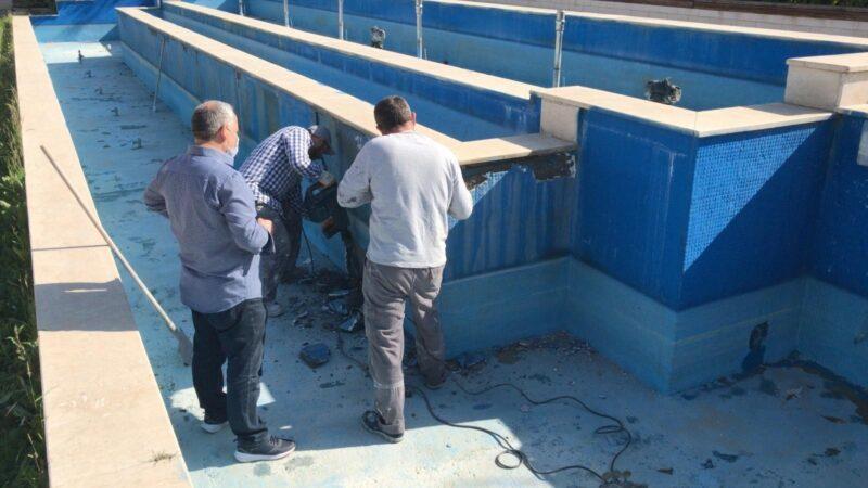 Nilüfer'de süs havuzları yaza hazırlanıyor