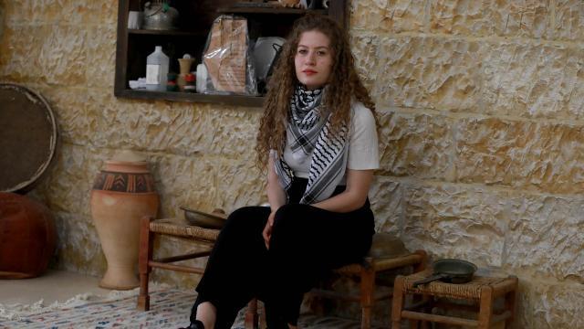 'Filistin'in cesur kızı' Temimi, Filistinli kadınlar için dünyaya seslendi