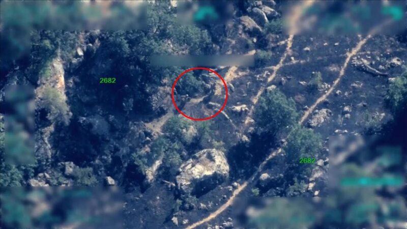 Pençe operasyonlarında teröristlerin kullandığı sığınak ve mühimmat imha edildi