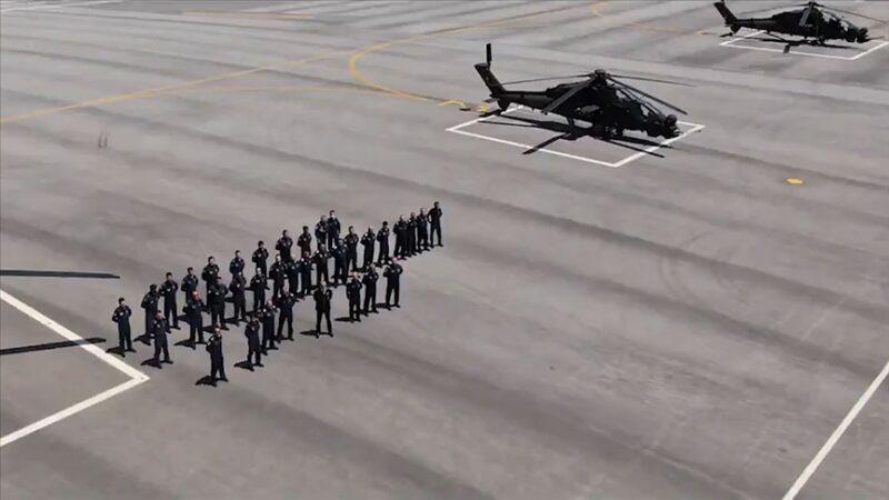 Emniyet 3'üncü ATAK helikopterini teslim aldı