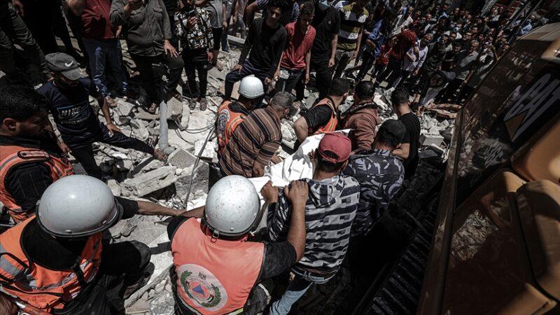 İsrail zulmü sürüyor: Can kaybı 200'e çıktı