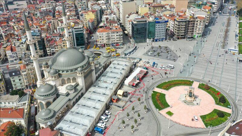 Cumhurbaşkanı Erdoğan'dan Taksim Camisi paylaşımı