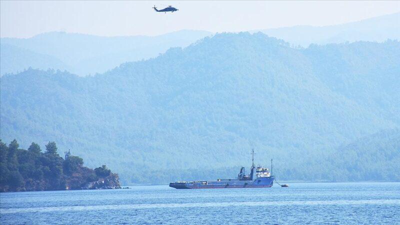Bir ton uyuşturucunun ele geçirildiği gemi satışa çıkarıldı