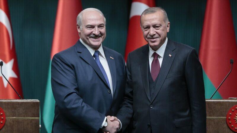 Cumhurbaşkanı Erdoğan, Belaruslu mevkidaşıyla görüştü