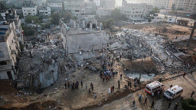 Gazze'de can kaybı 145'e yükseldi