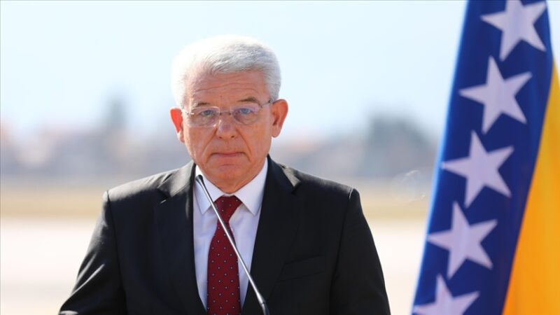 Dzaferovic'ten Netanyahu'ya tepki