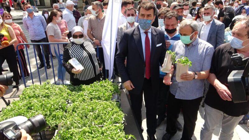 Bursa'da kapış kapış gitti!