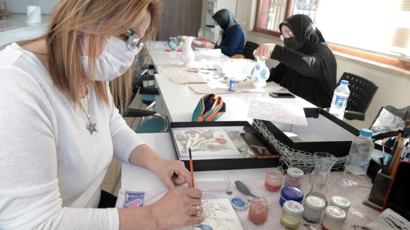 Ata yadigârı sanat OSMEK'te yaşatılıyor