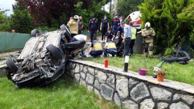 Bursa'da korkunç kaza! Bu araçtan sağ çıkamadı…