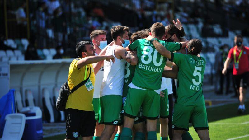 3.Lig'deki Bursa takımı 90+8'de işi bitirdi! 2.Lig'e nasıl çıkacak?