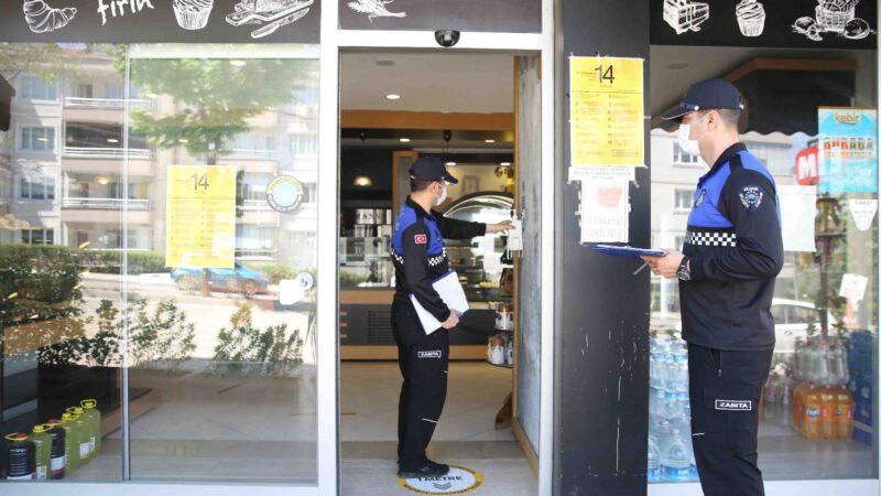 Nilüfer Zabıta'dan süper marketlere yasaklı ürün satışı denetimi